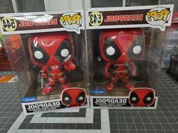 """10"""" Deadpool Funko Pop Lot of 2"""