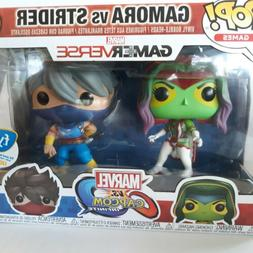 2 Pack Funko Pop Marvel vs Capcom Infinite Gamora vs Strider
