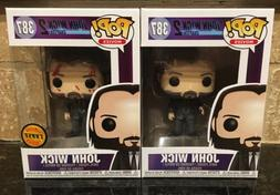 2016 Funko POP! John Wick: Chapter 2 Chase & Common #387 Set