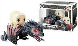 2019 Funko Pop Rides: Game of Thrones-DAENERYS On Dragon Col