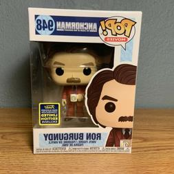 2020 SDCC RON BURGUNDY Anchorman - Red Suit with Mug  FUNKO