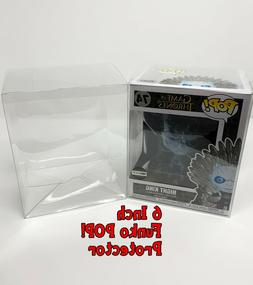 3 Pack - 6 Inch Funko POP! Vinyl Box Protector Clear - Free