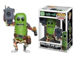 332: Funko Rick & Morty POP! Animation Pickle Rick with Lase