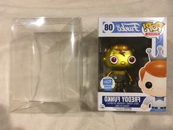 "X FUNKO POP! PROTECTORS FOR 4"" VINYLS Acid Free,Crystal cle"