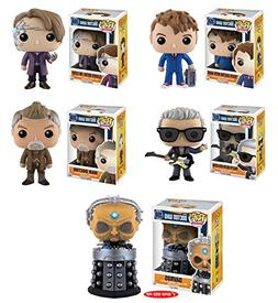 Doctor Who 10th Doctor with Hand, 11th Doctor as Mr. Clever,