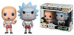 ECCC 2017 FUNKO POP! RICK AND MORTY BUFF RICK AND BUFF SUMME