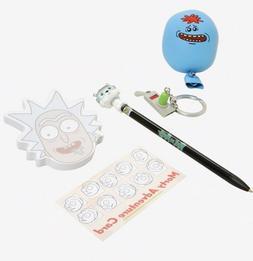 FUNKO POP Rick & Morty, snowball pen, portal gun keychain an