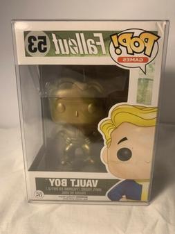 Funko - Figurine Fallout - Vault Boy Gold Exclu Pop 10cm - 0