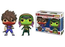 Funko POP! - Marvel Vs. Capcom Infinte: GAMORA VS STRIDER 2
