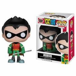 Funko POP! TV #107 Teen Titans Go! ROBIN Vinyl Figure RARE C