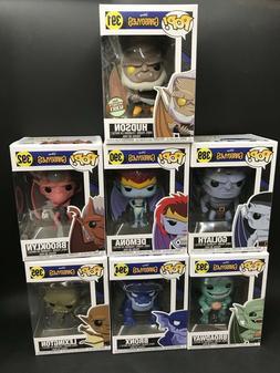 Funko Pop Disney: Gargoyles 30947.49.50.51.52.53 Set of 6 In