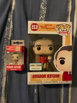 Funko Pop Mister Rogers with Puppet Barnes & Noble Exclusive