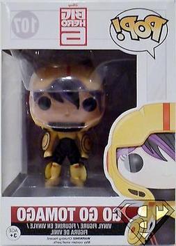 """GO GO TOMAGO Big Hero 6 Pop Movies 4"""" inch Vinyl Figure #107"""
