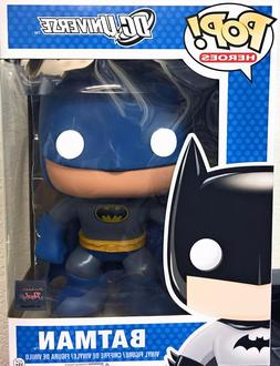 RETIRED / VAULTED FUNKO POP 9 INCH GIANT SIZE BATMAN BLUE -