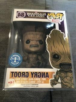 Angry Groot Funko Pop Marvel Guardians Soft Protector