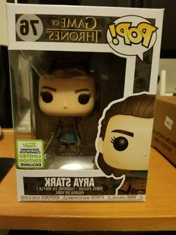 Arya Stark Funko POP! #76 Game of Thrones ECCC Shared Exclus
