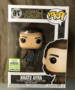 ARYA STARK Funko Pop Game of Thrones 2019 ECCC Shared Sticke