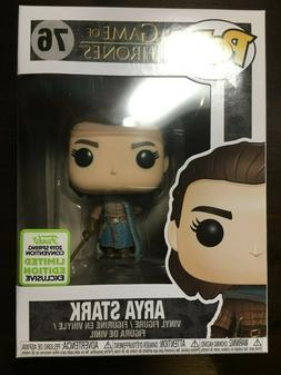 Arya Stark Funko POP Game of Thrones ECCC 2019 Shared Conven