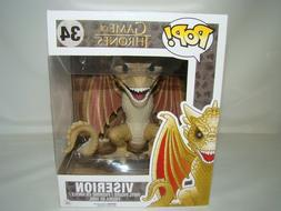 "B51 Funko Pop! Game of Thrones Viserion dragon 6"" Super Size"