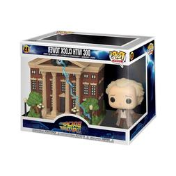 Funko Back To The Future POP Town Doc Clock Tower Set NEW
