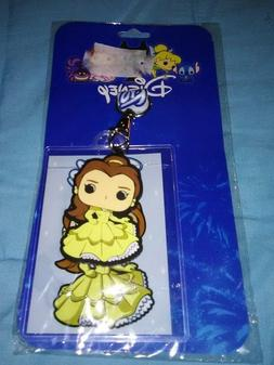 DISNEY BELLE Funko  POP LICENSED Lanyard ID Pin Holder