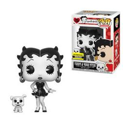 Betty Boop Black-and-White Pop! Vinyl Figure and Buddy - Ent