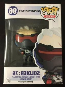 Blizzard Entertainment Overwatch Soldier : 76 Funko Pop! 96