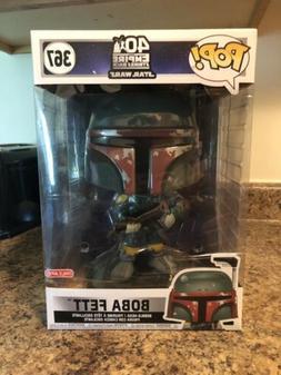 Boba Fett 10-inch Funko Pop Star Wars 40th Empire Strikes Ba