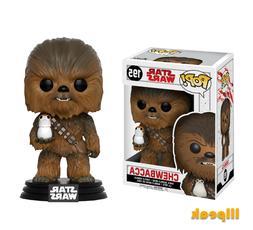 Chewbacca Star Wars Funko Pop #195 Bobble Head Vinyl Figure