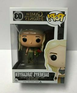 DAENERYS TARGARYEN 03 with DRAGON Game of Thrones Funko Pop