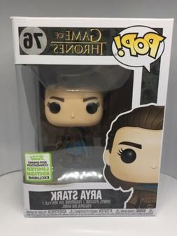 *DAMAGED* Funko Pop Game of Thrones Arya Stark 76 2019 ECCC