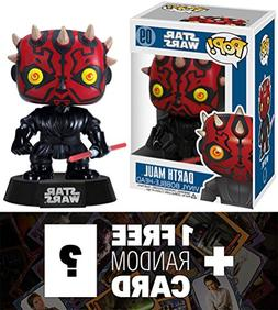 "Darth Maul: ~4"" Funko POP! Star Wars Vinyl Bobble-Head Figur"