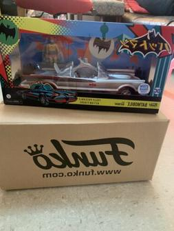 Funko DC - 1966 Chrome Batmobile Vehicle with Batman Limited