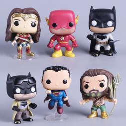 DC Justice League Character 10cm Super Hero Wonder Woman Sup