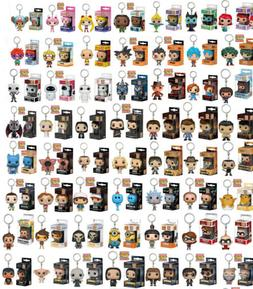 DC Marvel Keyring Groot/Rick/Morty/Dean/Goku Figure Funko PO
