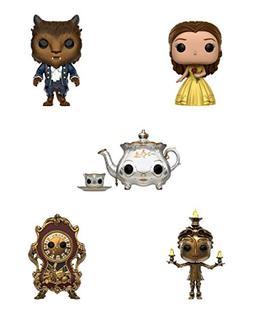 Funko Disney POP Beauty & The Beast Collectors Set