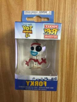 Disney Toy Story 4 Keyring Forky Figure Funko POP Pocket Key