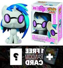 DJ Pon3: Funko POP! x My Little Pony Vinyl Figure + 1 FREE O