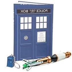 Doctor Who 3 Piece Gift Set - Sonic Screwdriver, TARDIS Key