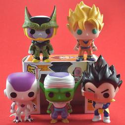 Dragon Ball Z Action Figures Box Funko Pop Vegeta Trunks Goh