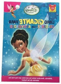 Disney Fairies 96 pg. Big Fun Book to color - Iridessa