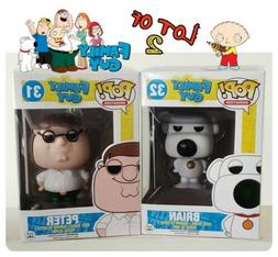 FAMILY GUY FUNKO POP! BUNDLE PETER AND BRIAN BRAND NEW & ☆