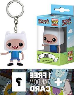 Adventure Time Finn: Pocket POP! x Mini-Figure Keychain + 1