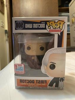 First Doctor Doctor Who Funko Pop 2017 Fall Convention Exclu