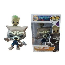 <font><b>FUNKO</b></font> POP Marvel Rocket Raccoon Groot PO
