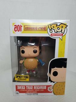 Pop Funko Animation Burger Suit Gene Bob's Burgers Exclusive