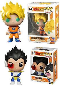 Funko POP! Dragonball Z: Super Saiyan Goku + Vegeta - Styliz