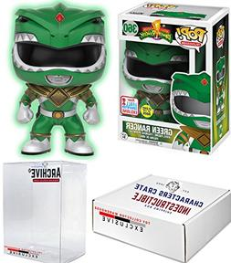 Funko Pop! NYCC Power Rangers Green Ranger Glow in the Dark,
