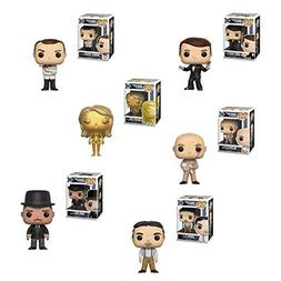 Funko Pop Movies James Bond Agent 007 - Roger Moore, Sean Co