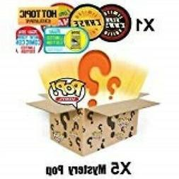 pop funko mystery 6 pack w/ 1 random limited edition chase -